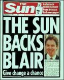 sun backs blair