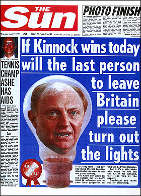 The Sun_Kinnock_light bulb