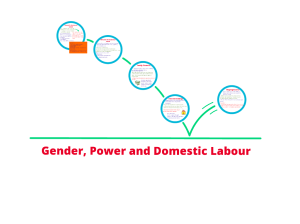 Gender, Power and Domestic Labour