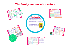 The family and social structure